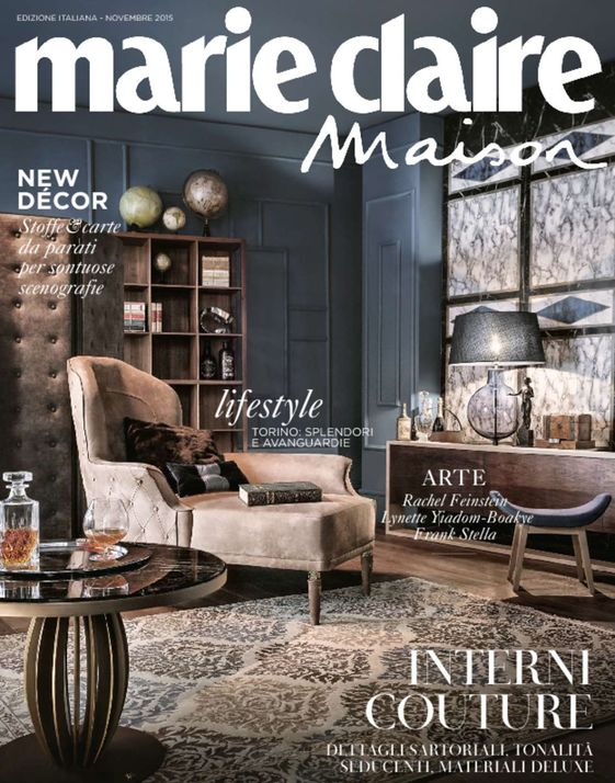 Marie Claire Maison Italy November 2015 For Home Décor Ideas