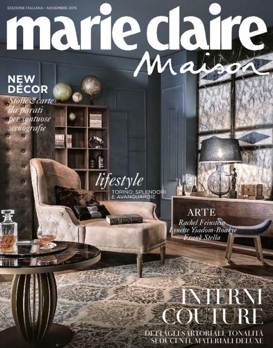 Elegant Marie Claire Maison Italy November 2015 For Home Décor Ideas